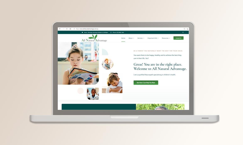 Tessella Website Development - All Natural Advantage