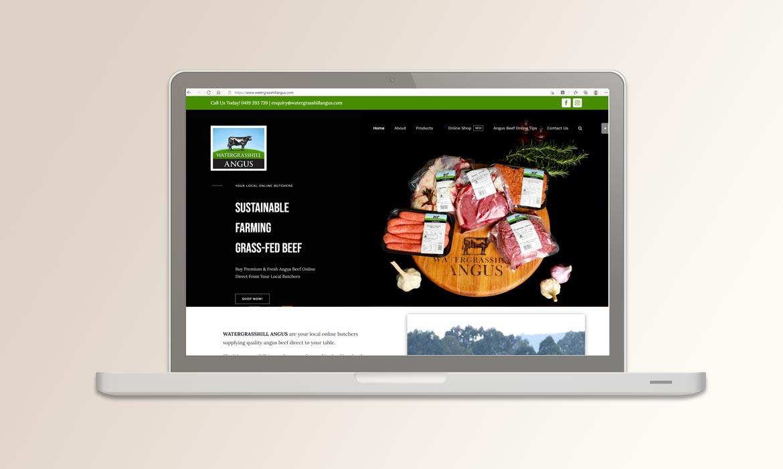Tessella Website Development - Watergrasshill Angus