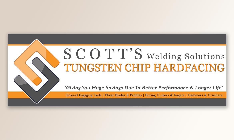 Tessella Design Solutions - Scott Welding Banner