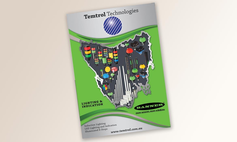 Tessella Graphic Design - Temtrol Brochure 2017 Lighting