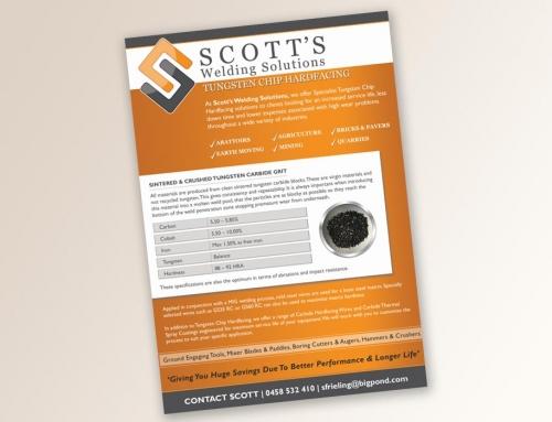 Scott's Welding Flyer