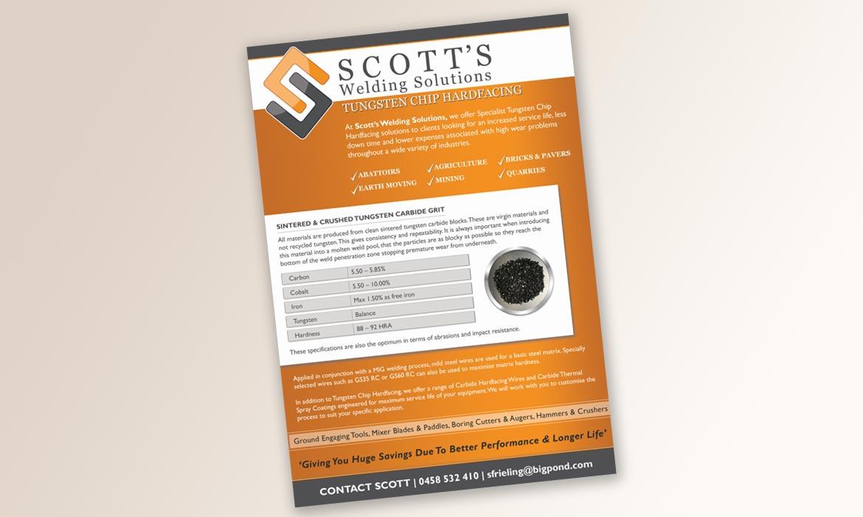 Tessella Design Solutions - Scott Welding Flyers