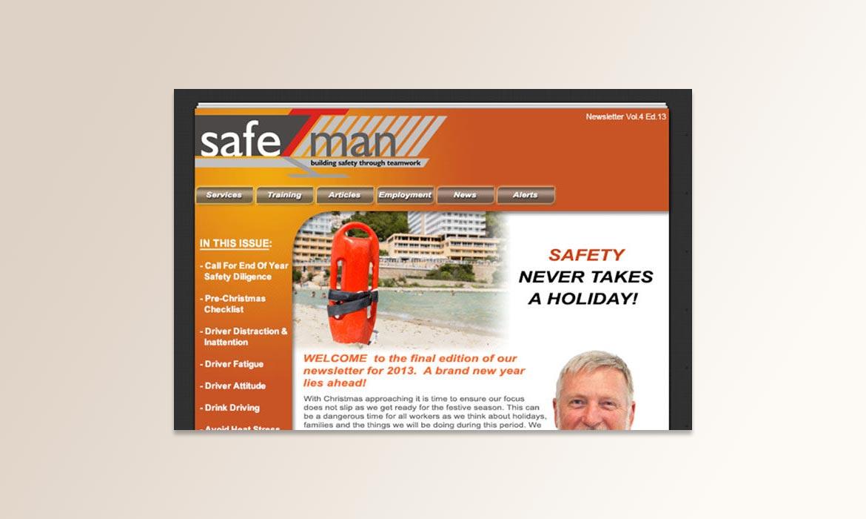 eNewsletter - SafeTman - 2013