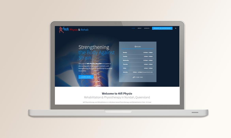 Tessella Website Development - 4TFi Physio