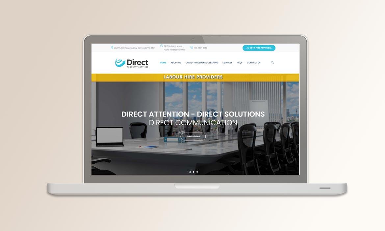 Tessella Website Development - Direct Property Services
