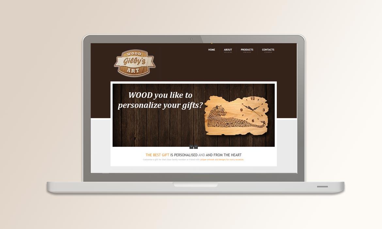 Tessella Website Development - Gilbys Wood Art