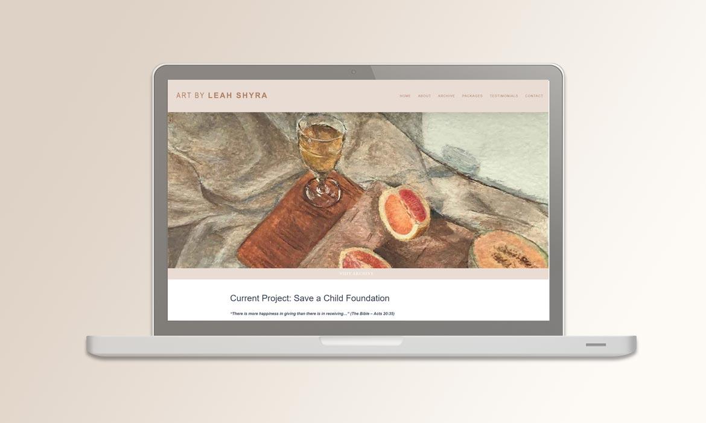Tessella Website Development - Leah Shyra Art