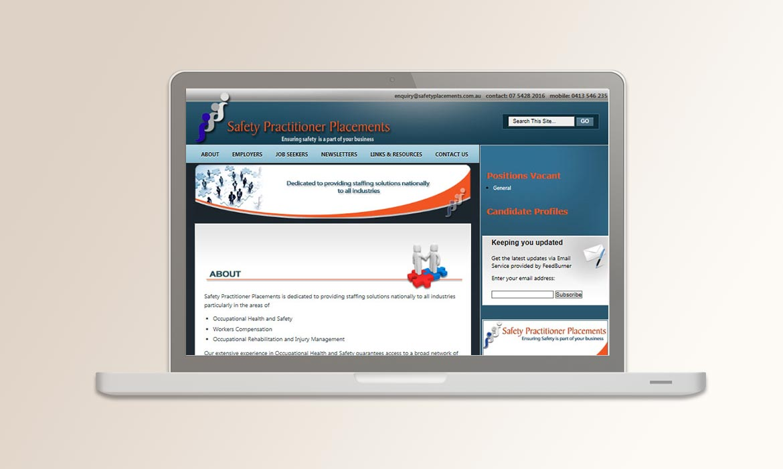 Tessella Website Development - Safety Placements