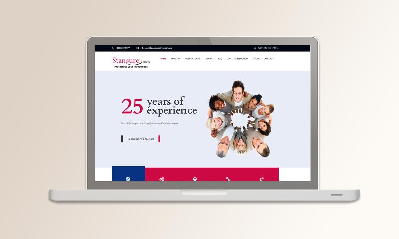 Tessella Website Development - Stansure Strata