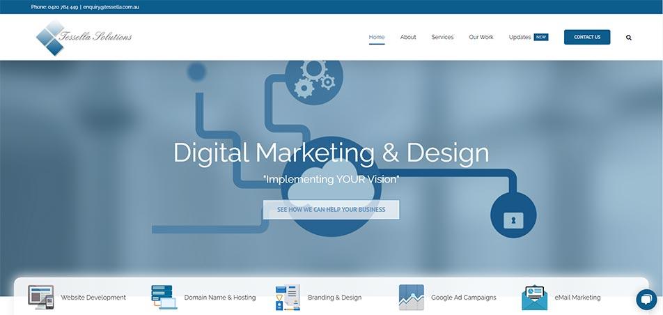 Tessella Solutions - New Website